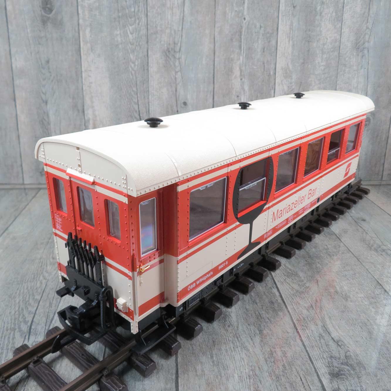 Geländer Personenwagen Einheitswagen LGB 36060-E010 Ersatzteil NEU